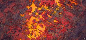 rouge digital art contemporain musée