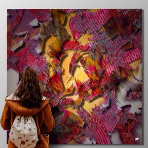 Exposition d'art contemporain digitale création numérique