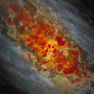 Art digital, peinture numérique imprimée artiste contemporain