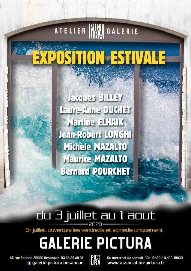 Exposition d'art Pictura Juillet