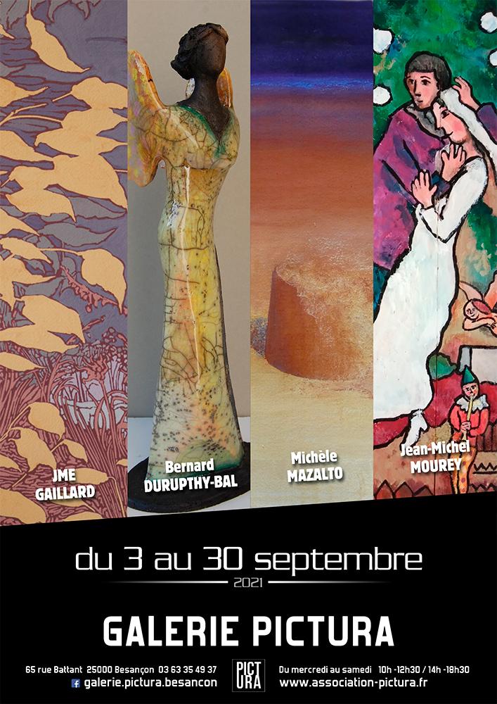 Exposition Pictura, peinture, sculpture, art numerique